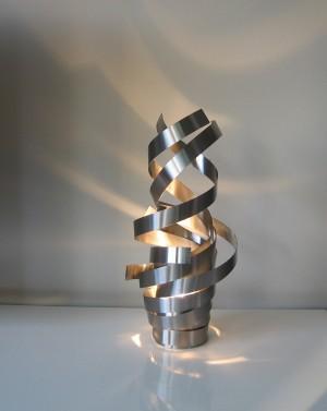 Moderne tafellampen rvs